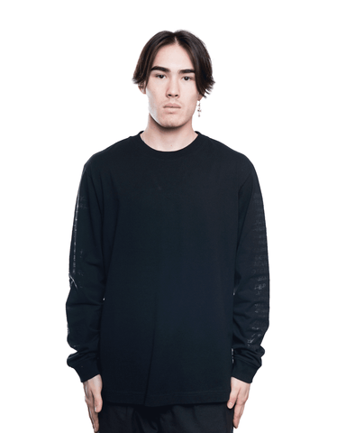 RtA LAWRENCE LS Tee Black