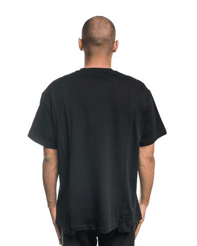 Selfmade Black Deconstructed Tee Black