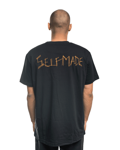 Selfmade Iconic Tee Black