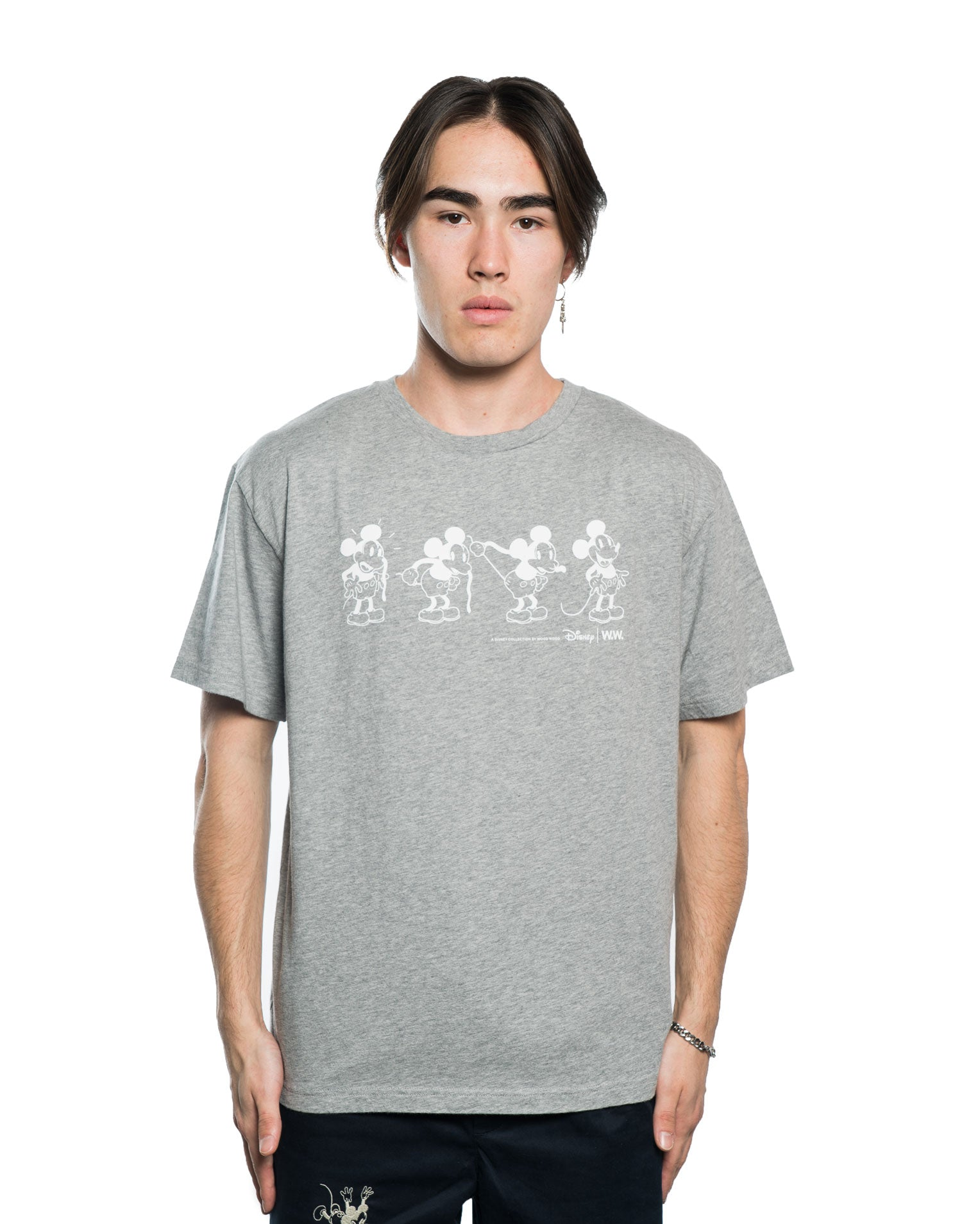 Wood Wood x Disney Bobo Tee Grey