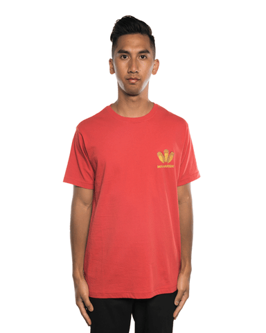 Maharishi Golden Sun Dragon Tee Flare/Gold