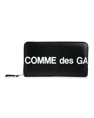 CDG WALLET SA0111HL Huge Logo Black