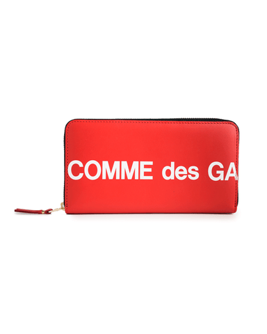 CDG WALLET SA0111HL Huge Logo Red