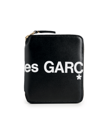CDG WALLET SA2100HL Huge Logo Black
