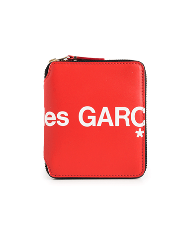 CDG WALLET SA2100HL Huge Logo Red