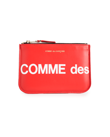 CDG WALLET SA8100HL Huge Logo Red