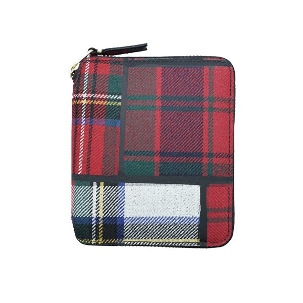 SA2100TP Wallet Tartan Patchwork Red