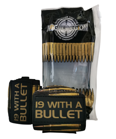 "ROGUE LEGION 18"" WRIST WRAPS - 19 WITH A BULLET EDITION"
