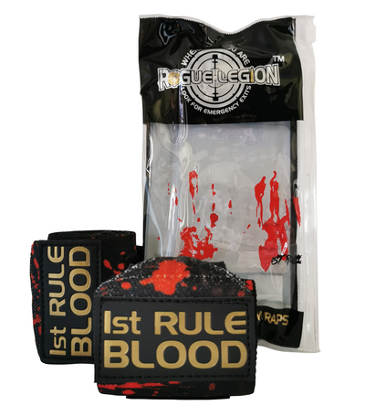 "ROGUE LEGION 18"" WRIST WRAPS - 1ST RULE (BLOOD & SWEAT) EDITION"