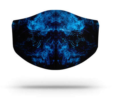 EXTREME D15 FILTRATION TRIPLE LAYER FACE MASK - SMOKE & MIRRORS EDITION