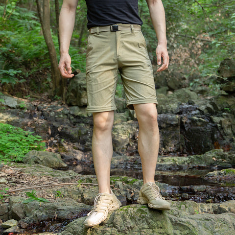 FREE SOLDIER Men's Cargo Shorts Ultralight Quick Dry Pants Shorts