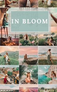IN BLOOM - Mobile Preset Pack