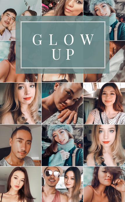 Coming Soon: Glow Up - Mobile Preset Pack for Selfies