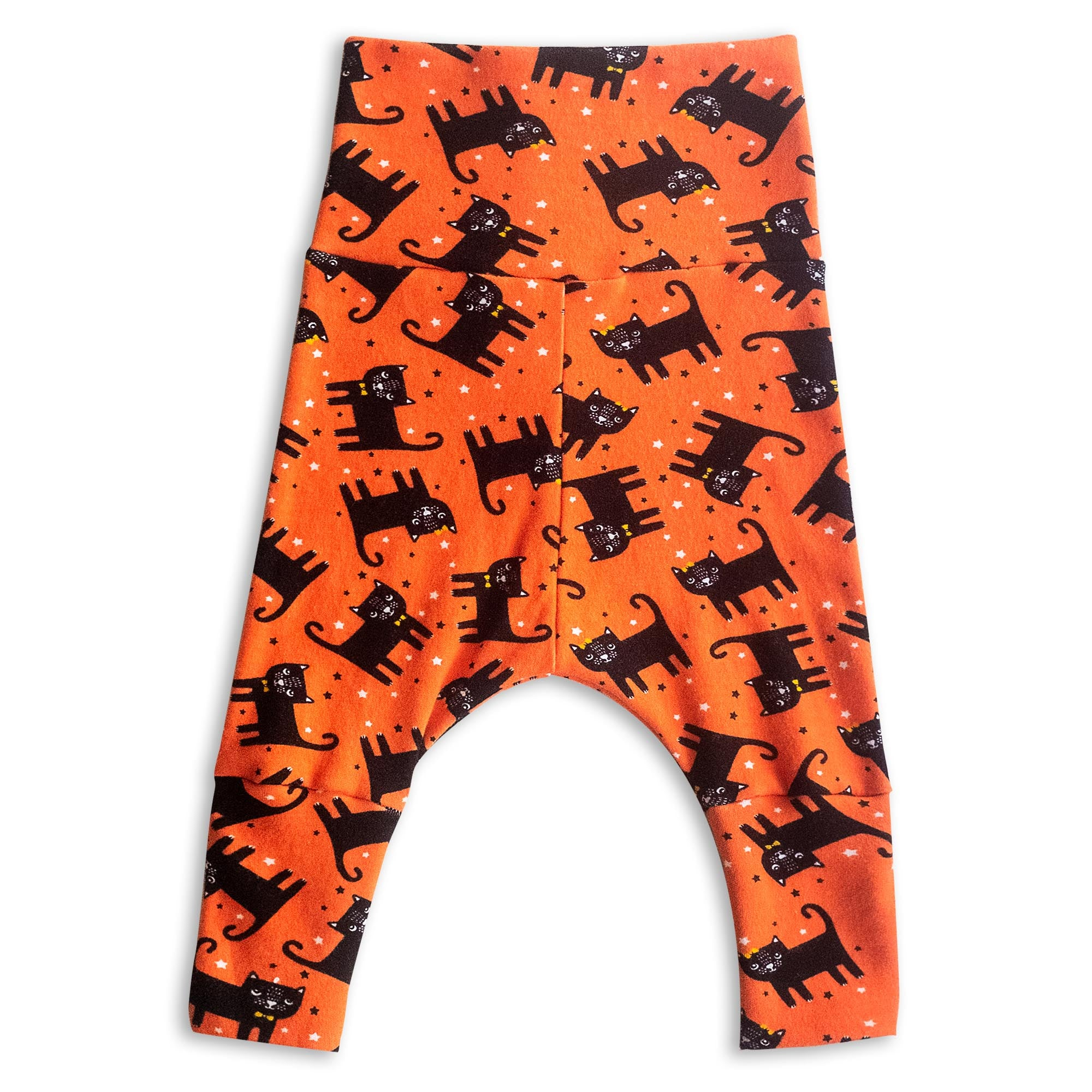 Creepy Cats Harem Pants