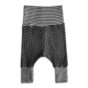 Grey Dots and Stripes Forever Harem Pants