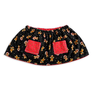 Gingerbread Reversible Skirt