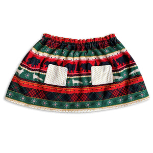 Have A Very Dottie Christmas Reversible Skirt