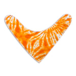 Orange Tie Dye Droolie