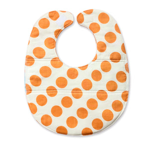 Orange Dots Bib