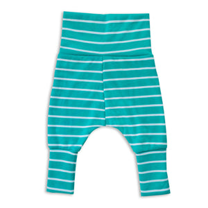 Blue Stripes Harem Pants