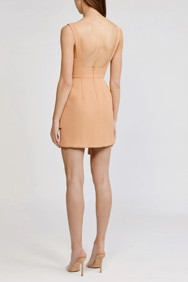 Acler Dress Clarke Dress, Nude Soho-Boutique