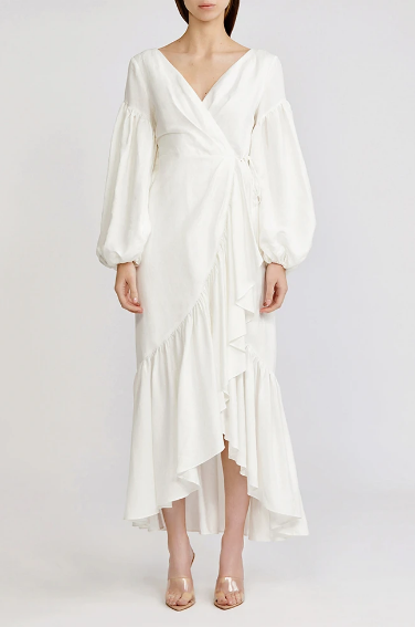 Acler Dress Gallion Dress, Ivory Soho-Boutique