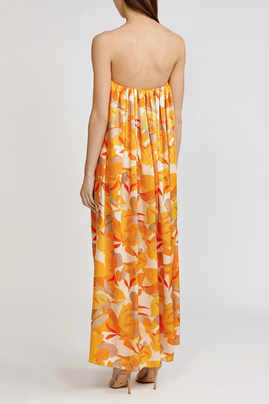 Acler Dress Haslam Dress, Golden Abstract Soho-Boutique