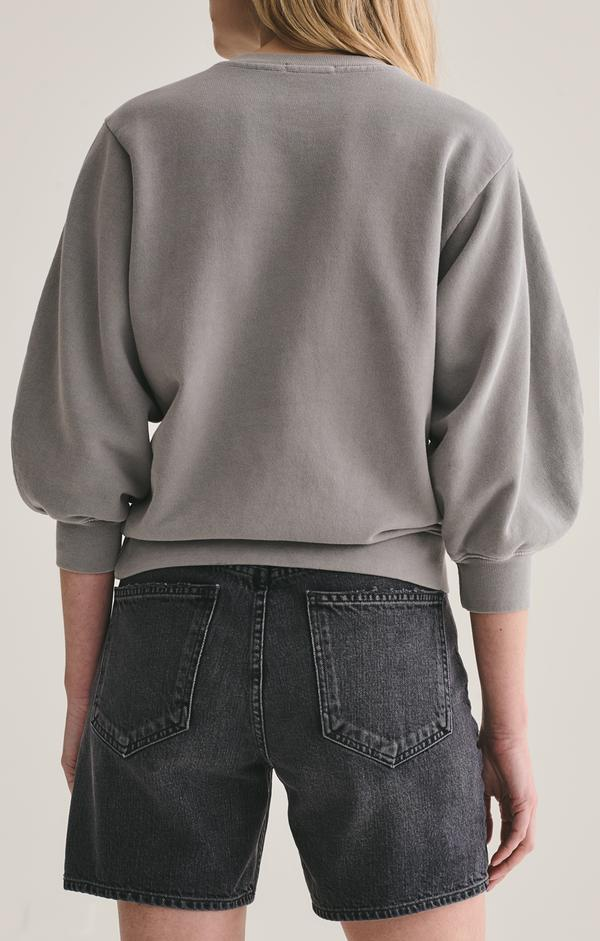 AGOLDE Sweatshirt Thora Sweatshirt, Zinc Soho-Boutique