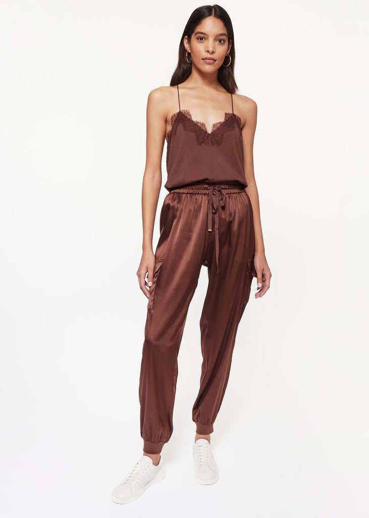 Cami NYC Cami Racer Jersey Cami, Chocolate Soho-Boutique