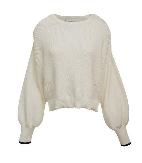 Eleven Six Sweater Layla Crew Sweater Soho-Boutique