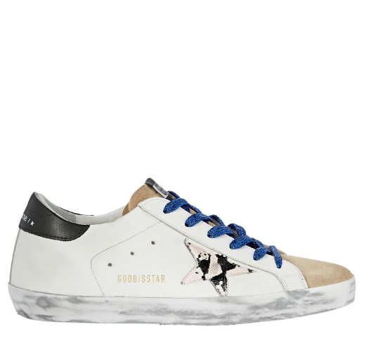 Golden Goose Deluxe Brand Sneakers Superstar Pink Snake Blue Lace Soho-Boutique