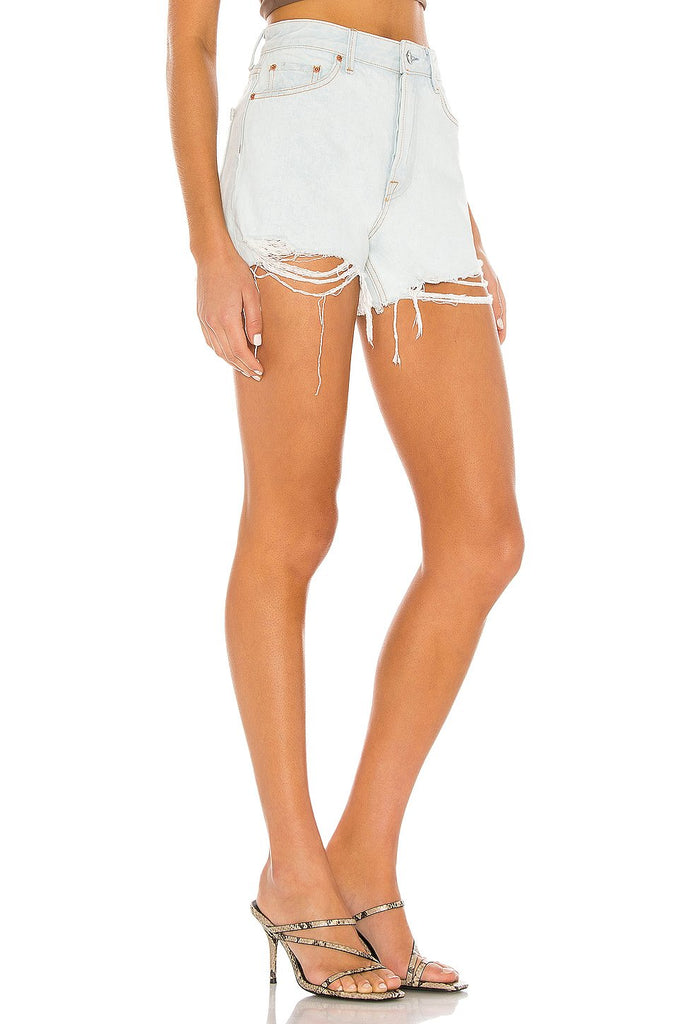 GRLFRND Denim Helena Short, Dare Me Soho-Boutique