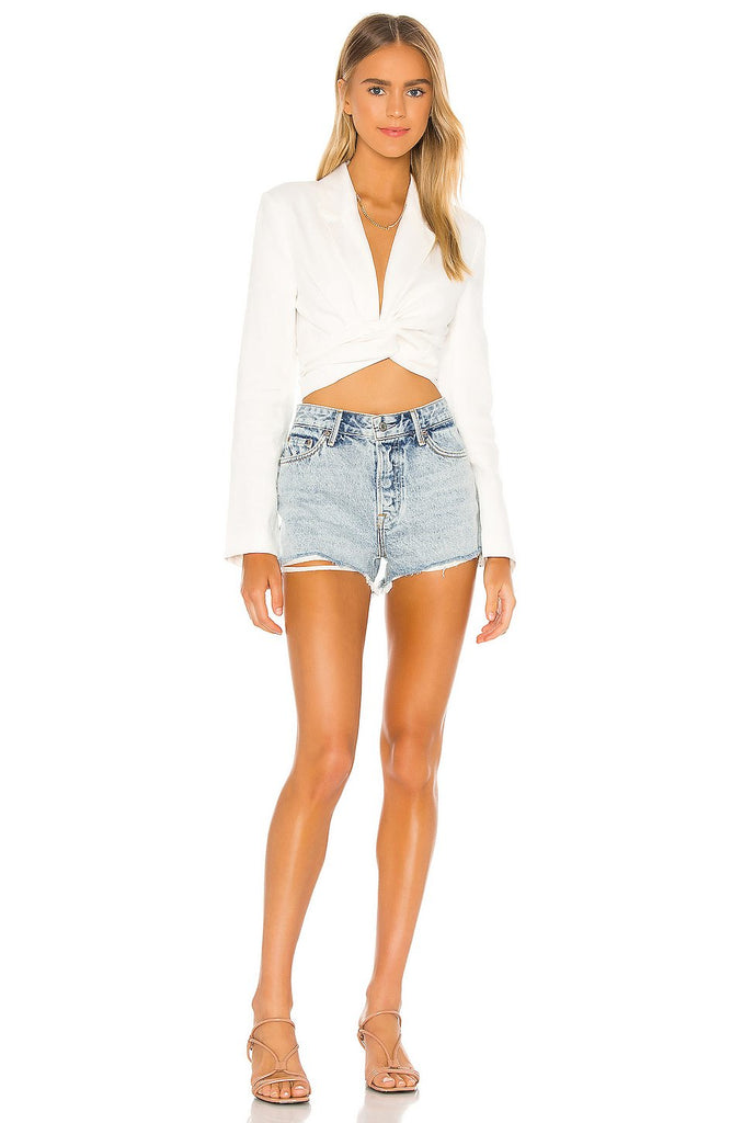 GRLFRND Denim Helena Short, True Blue Soho-Boutique