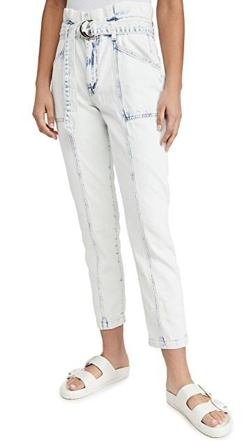 JONATHAN SIMKHAI Denim Ace Paper Bag Jeans Soho-Boutique