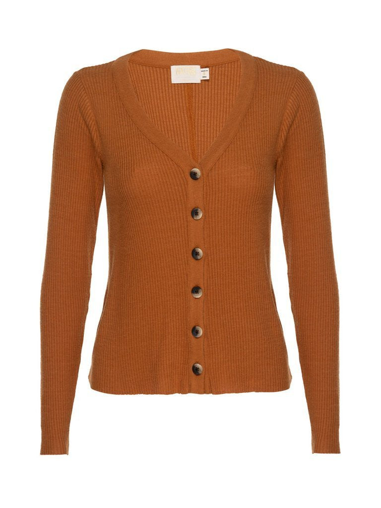 NATION LTD Cardigan Kendra Cardigan, Butterscotch Soho-Boutique
