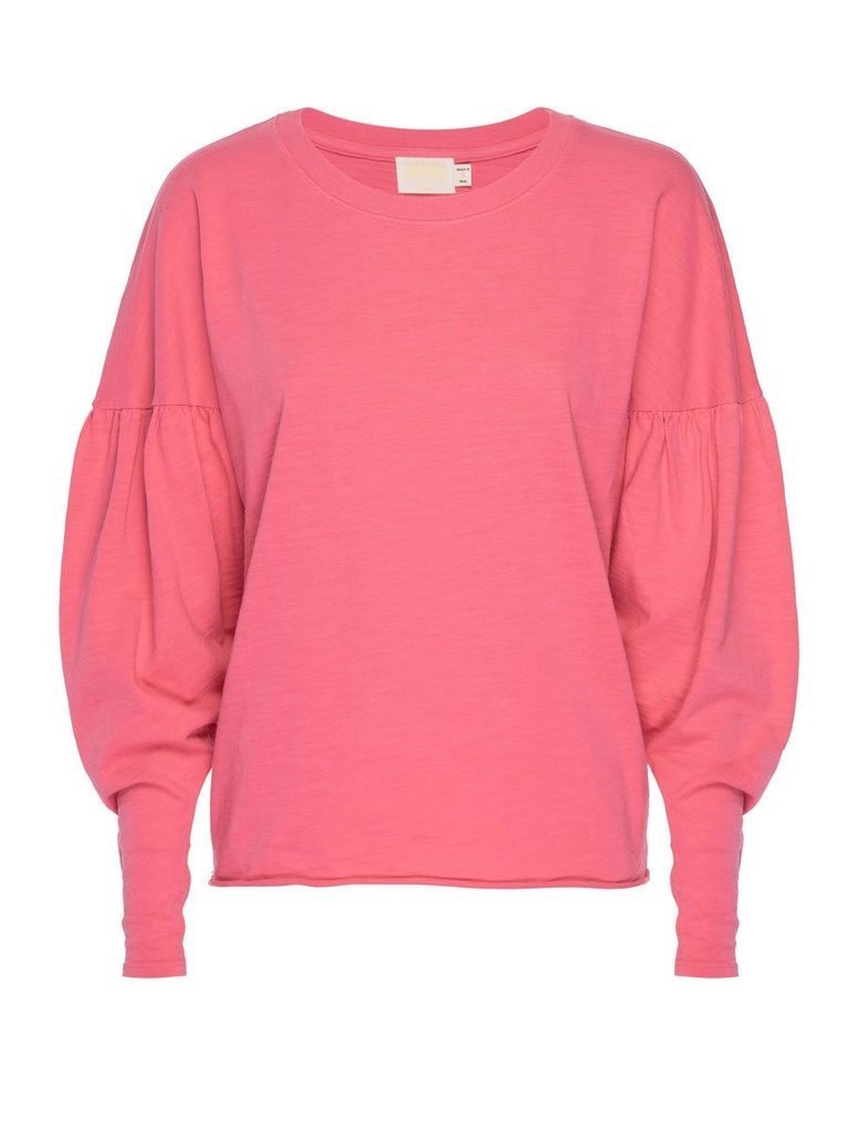 NATION LTD Top Giada Blouson Sleeve Tee, Bubblegum Soho-Boutique