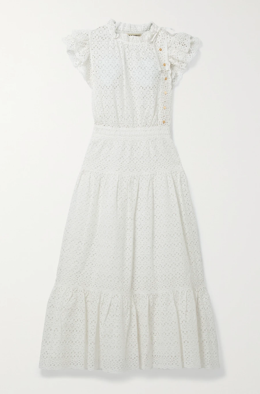 Ulla Johnson Dress Lucille Dress Soho-Boutique