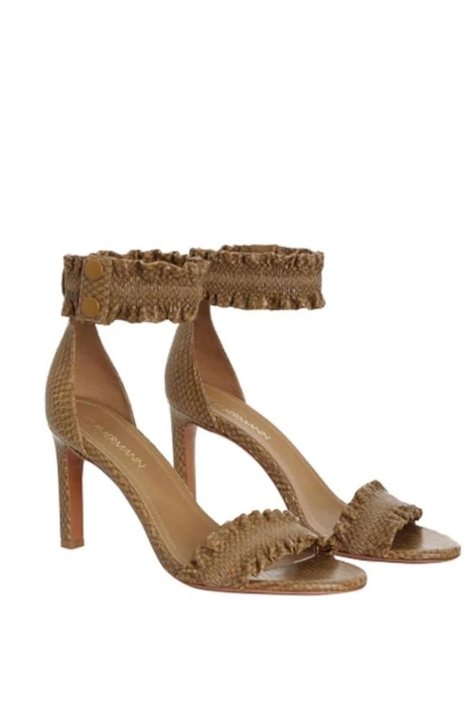 Zimmermann Shoe Elastic Strap Sandal Soho-Boutique