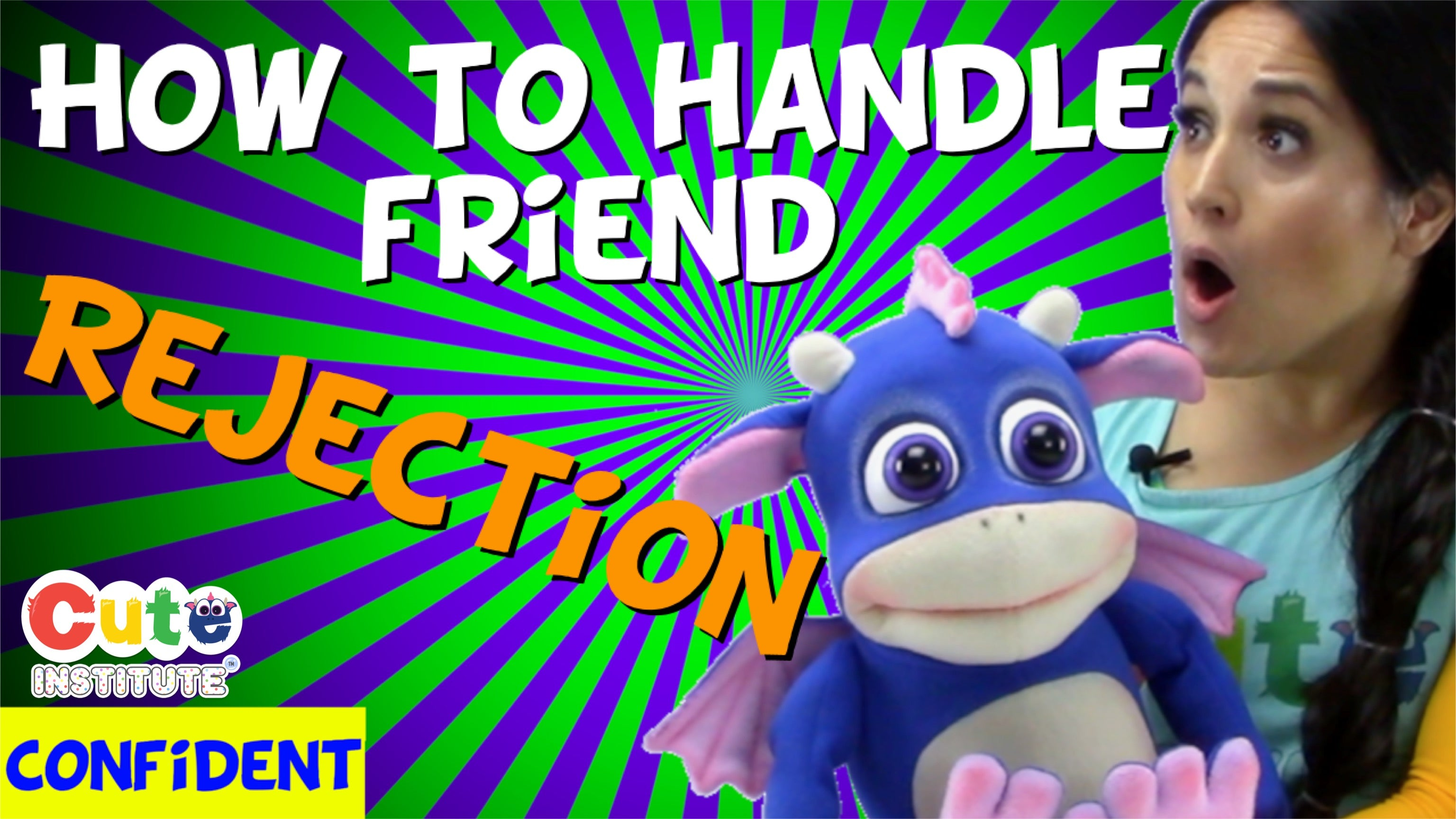 How To Make A Friend For Kids: Rejection | Life Changing Social Skills & New View .MP4 VIDEO