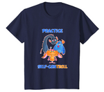 "Practice Self-ConTROLL™ T-shirt - Kids - As Seen On ""Don't Hit Song"" Music Video"