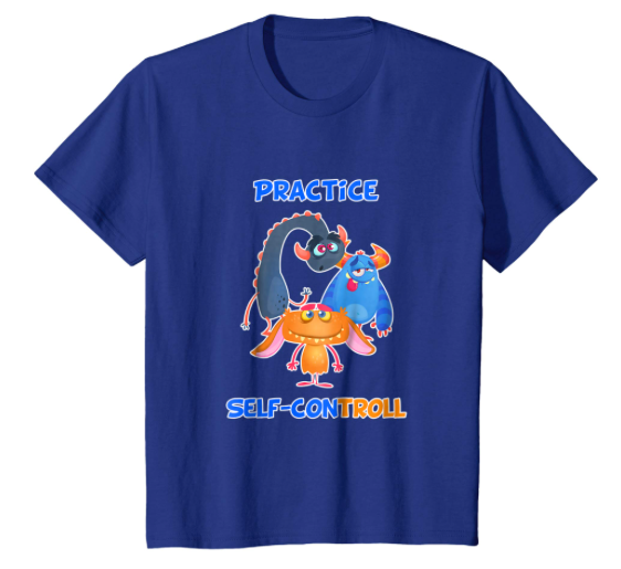 Practice Self-ConTROLL™ T-shirt - Kids - As Seen On