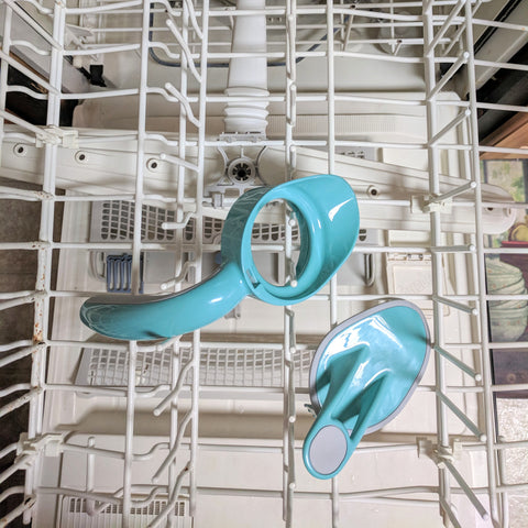 Ergo Spout in a dishwasher