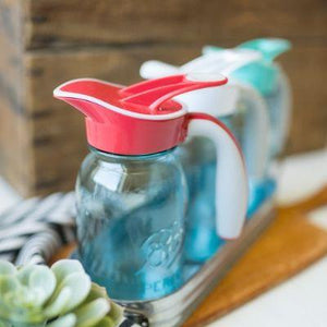 Ergo Spout® - Ergonomic Spout and Handle for Regular Mouth Mason Jars