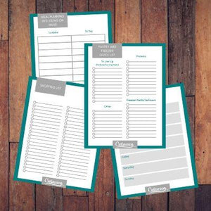 Pantry and Meal Planning Worksheets - FREE DOWNLOAD