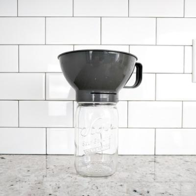 Filter Funnel for Wide Mouth Mason Jars