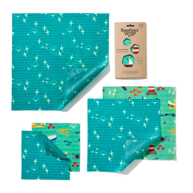 The Beeswax Wrap Co. Sea Print