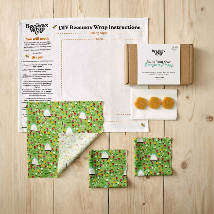 Beeswax Wrap DIY Kits
