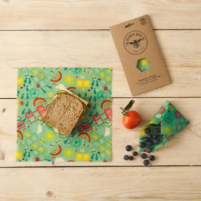 The Beeswax Wrap Co. Playground Games Print