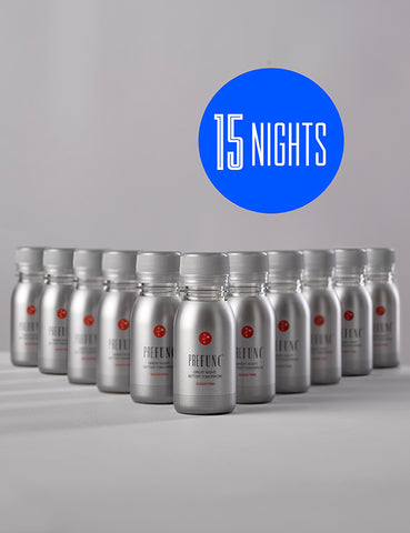 PREFUNC Thirty pack - 15 nights