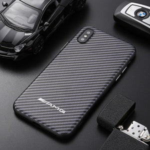 AMG Carbon Fiber iPhone Case - Cadille